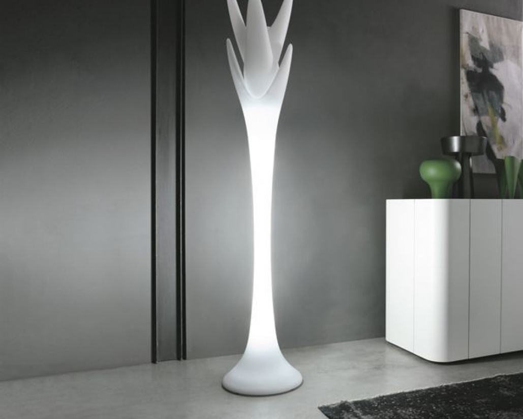 Viking White Designer Floor Lamp
