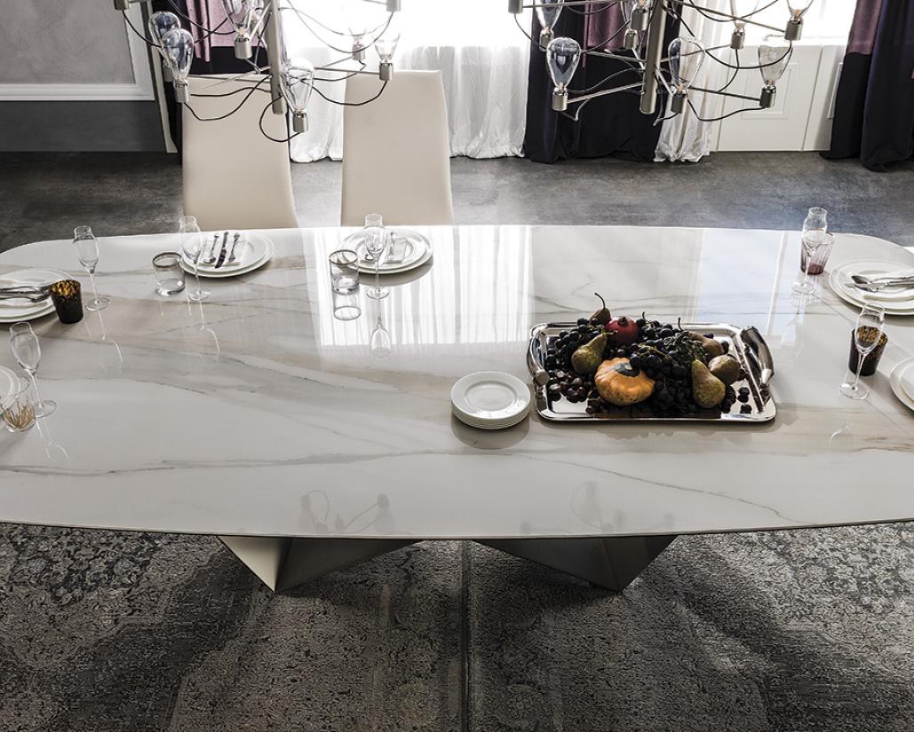 Skorpio Keramik Dining Table - Cattelan Italia