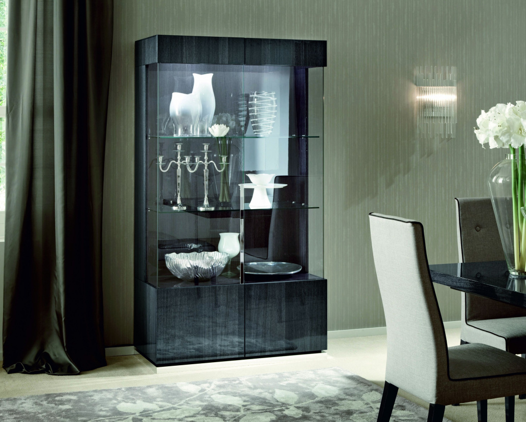 Montecarlo 2 Door Display Cabinet