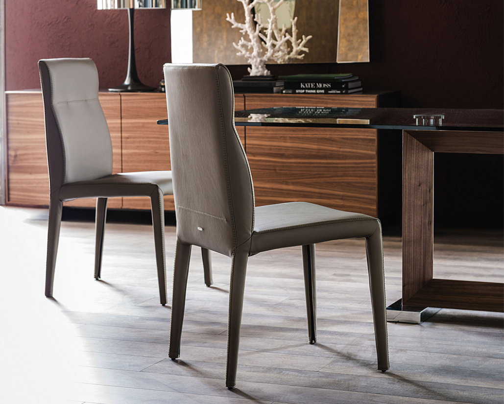 Agatha Flex Leather Dining Chair