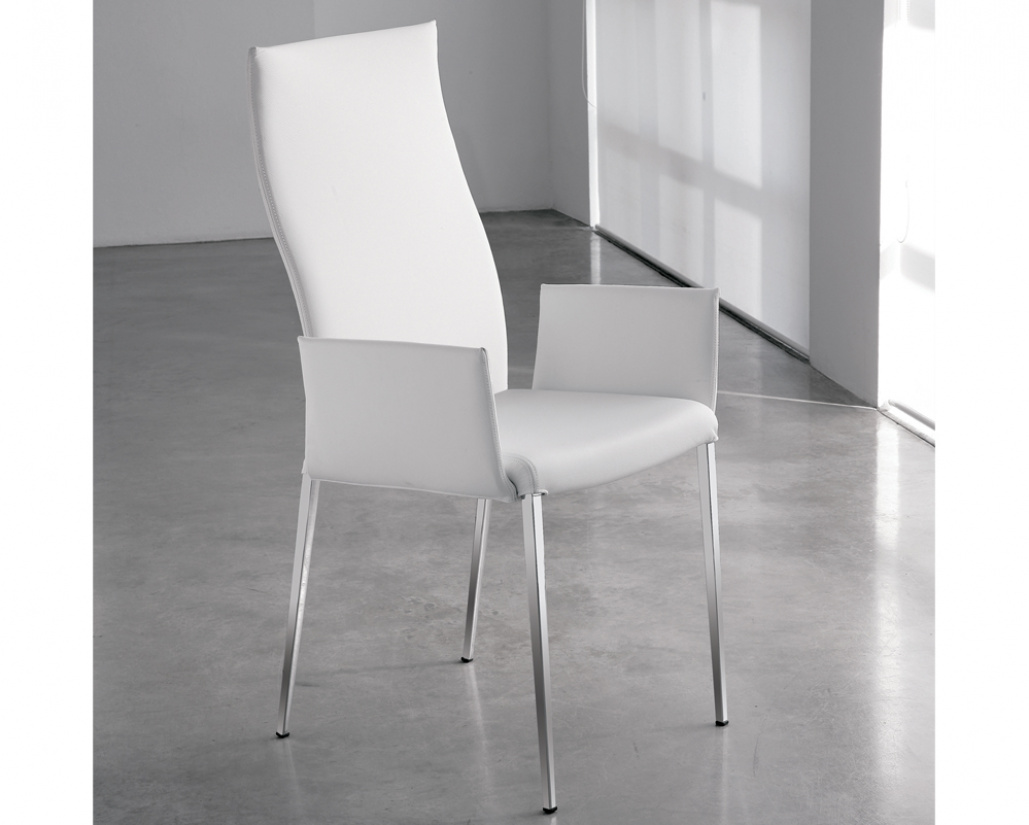 Anna High Back Carver Dining Chair
