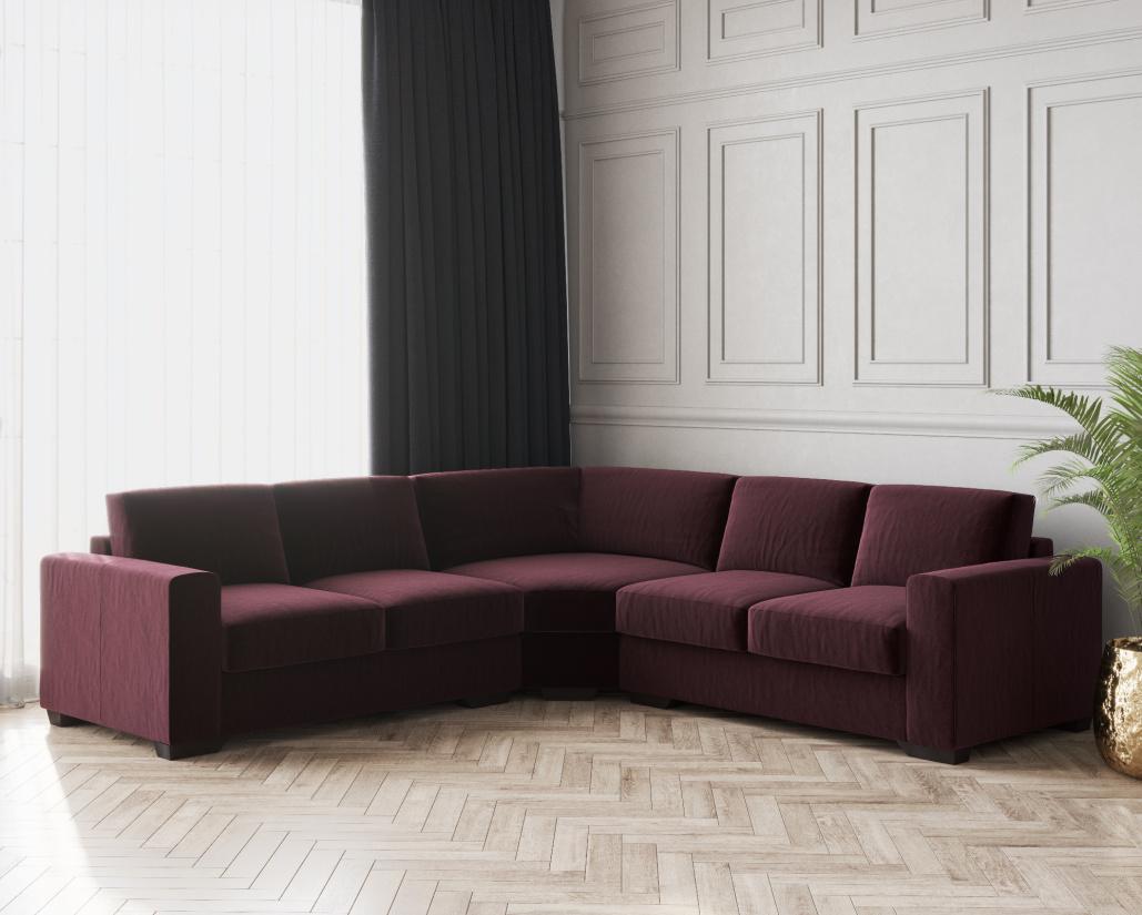 Archie Fabric Corner Sofa