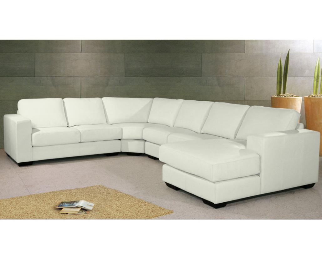 Archie Large Leather Corner Sofa