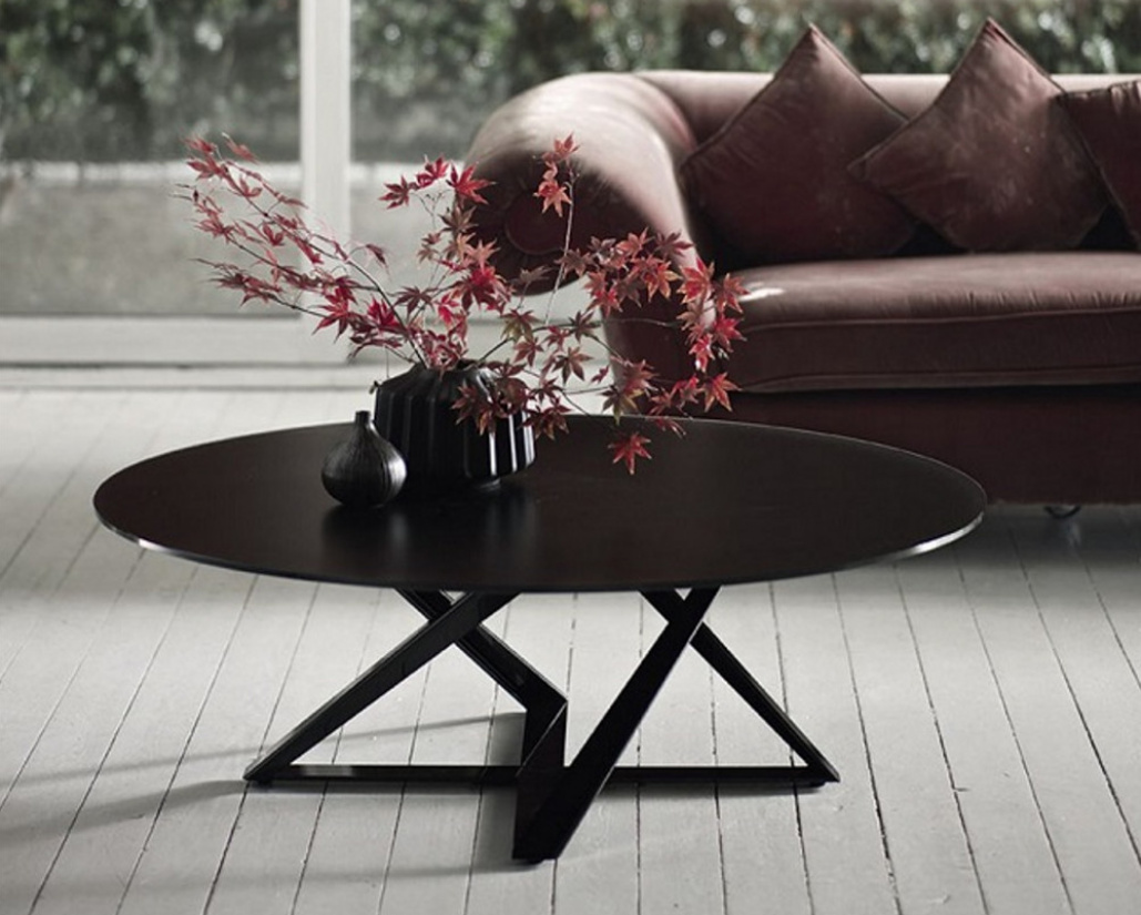 Buy Millennium Round Coffee Table Online In London Uk Denelli