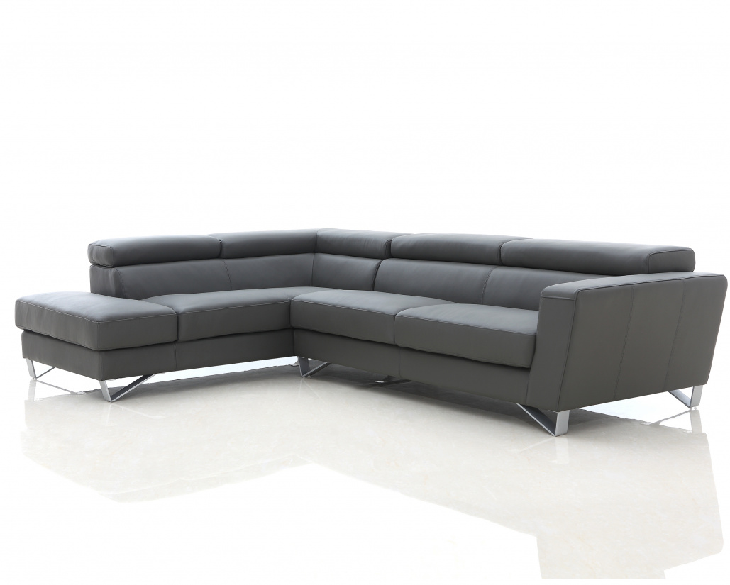 Brook Corner Leather Sofa