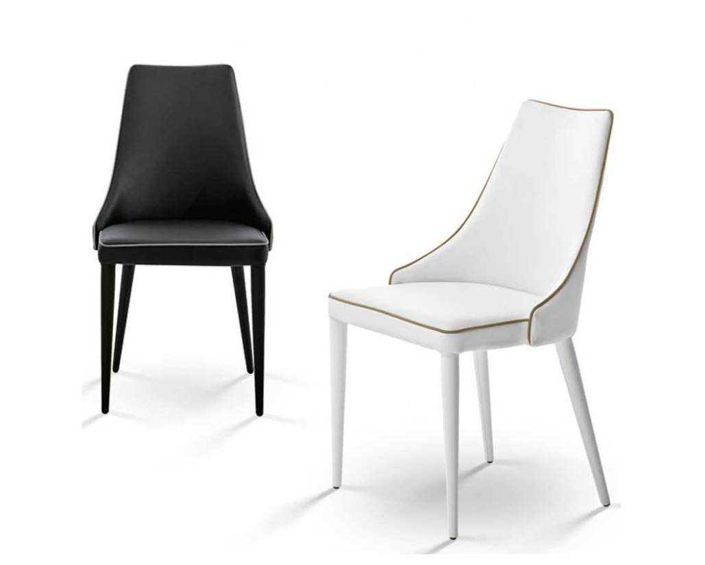 Clara Dining Chair Contrast Piping