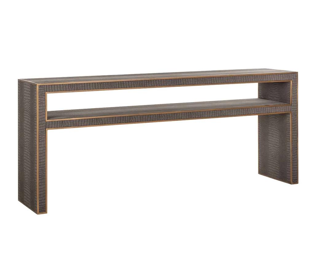 Fabian Vegan Console Table