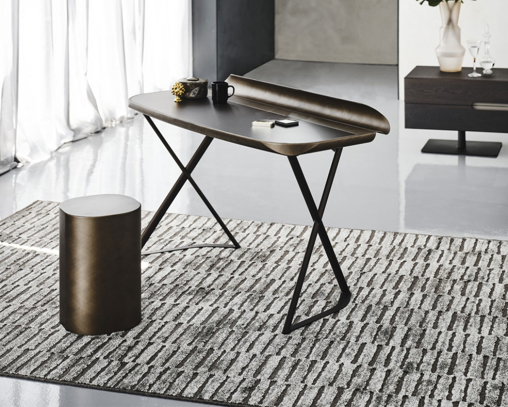 Cocoon Leather Desk