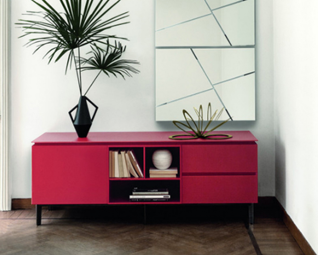 Cosmopolitan Medium Glass Sideboard
