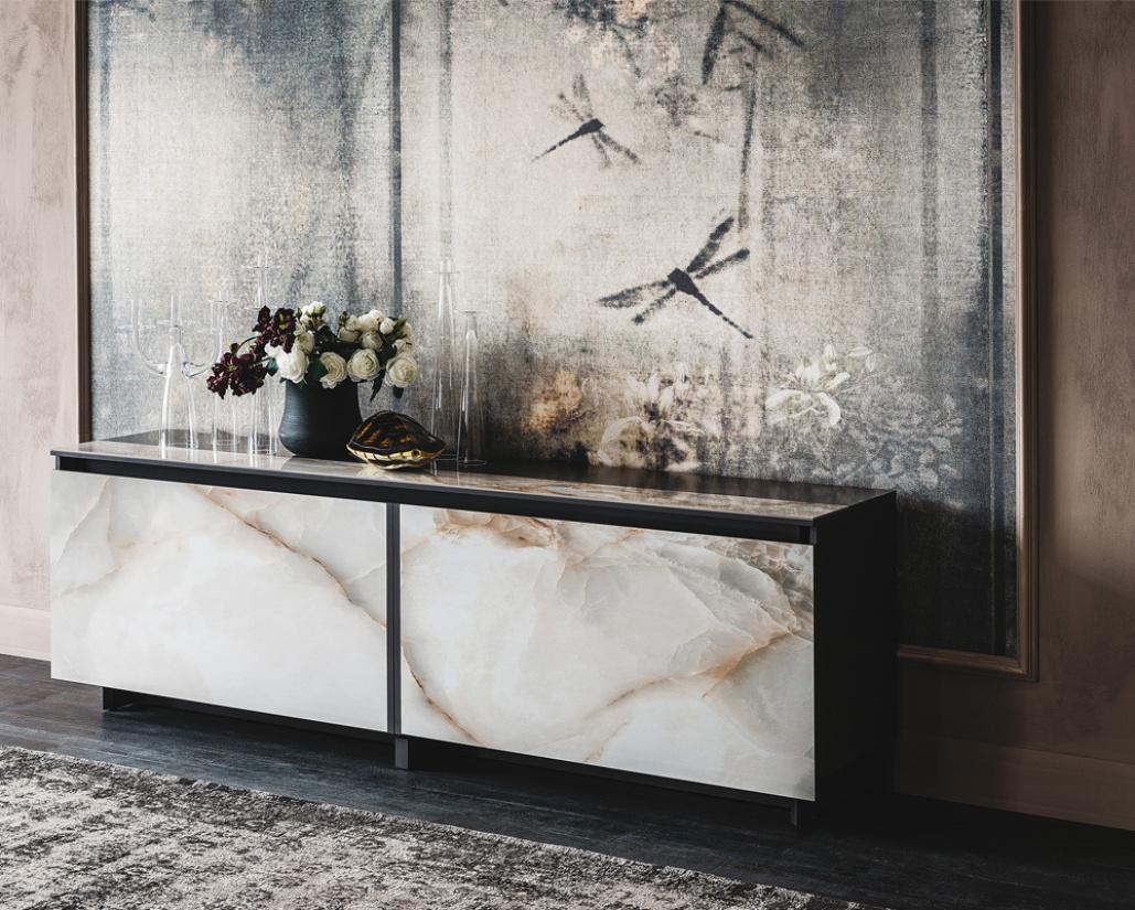 Europa Keramik Sideboard - Marmi Finish