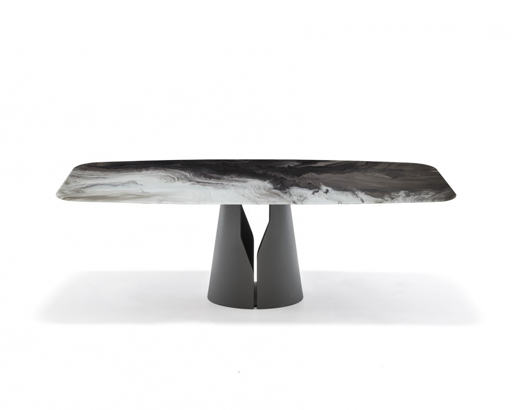 Giano Crystalart Dining Table
