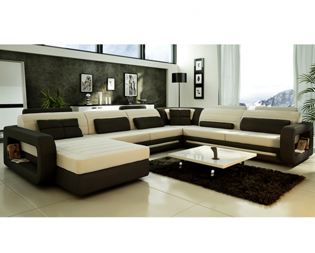 Granada Leather Corner Sofa