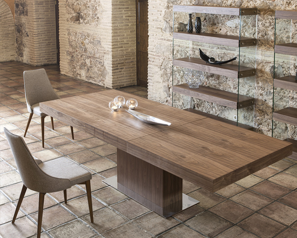 Leo Extending Dining Table - Lifestyle