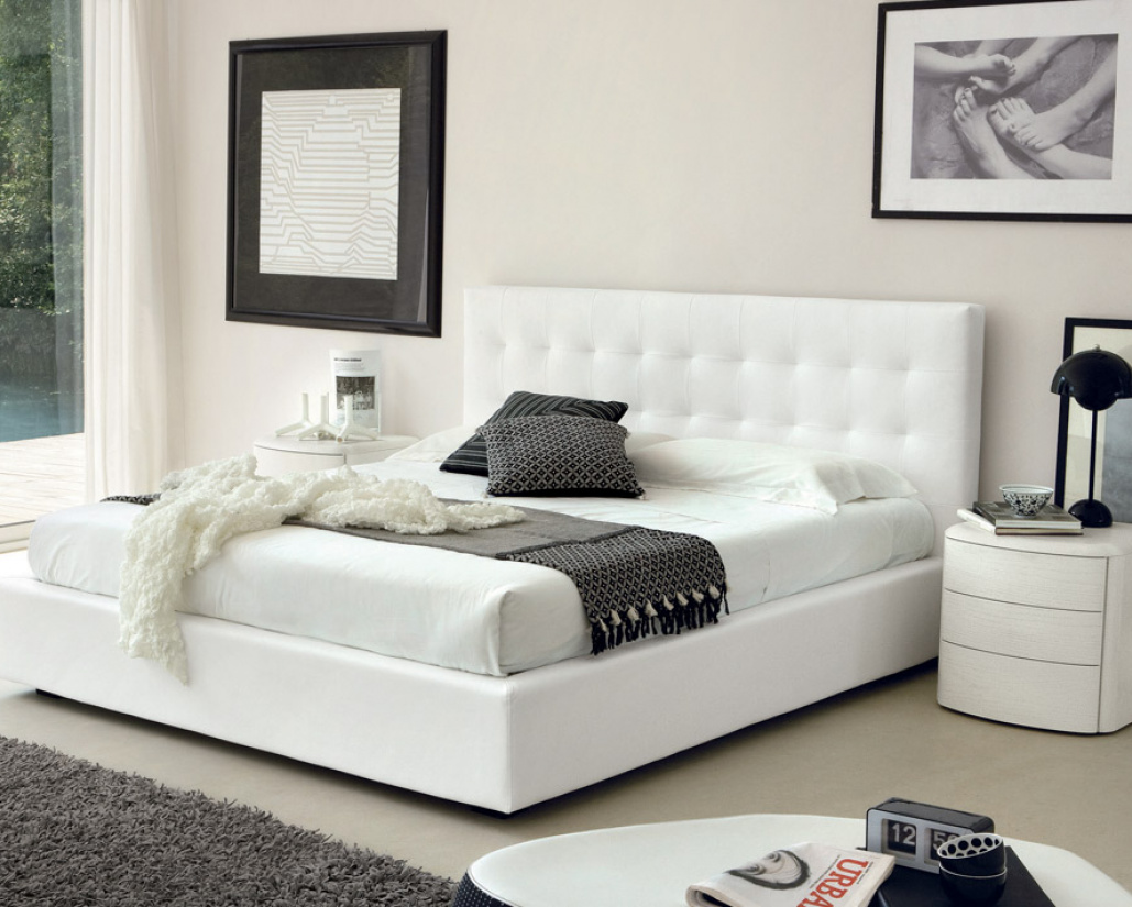Live Luxury Bed White