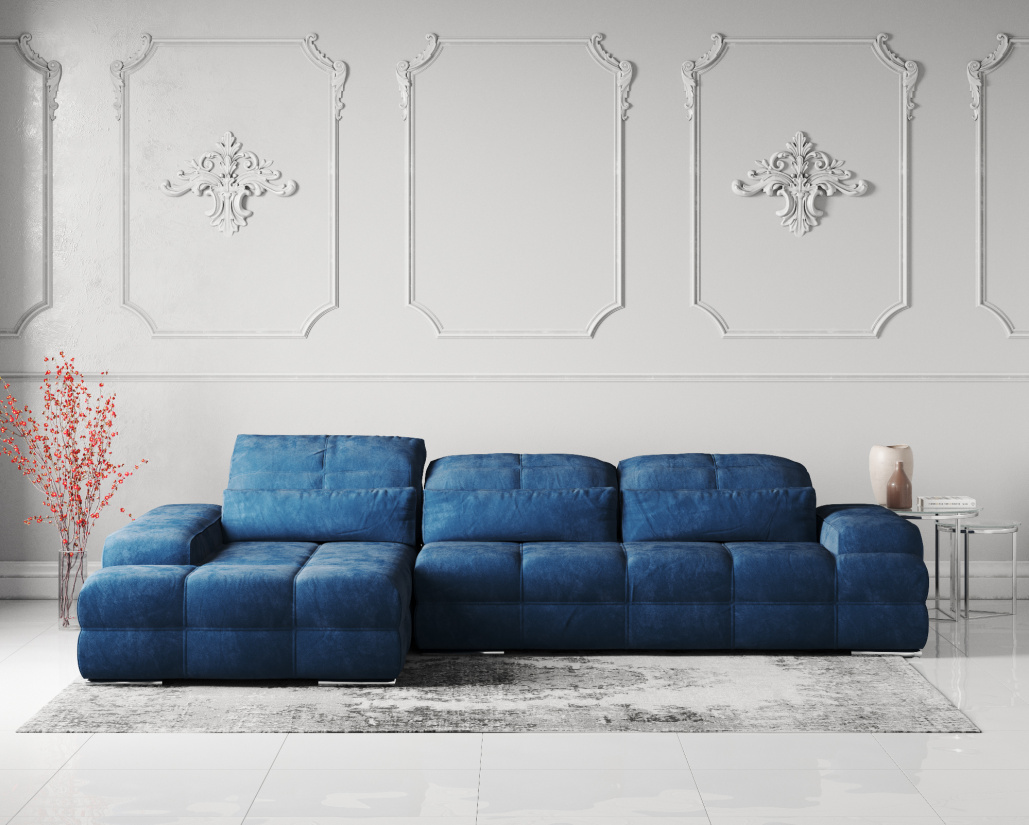 Love Fabric Corner Sofa