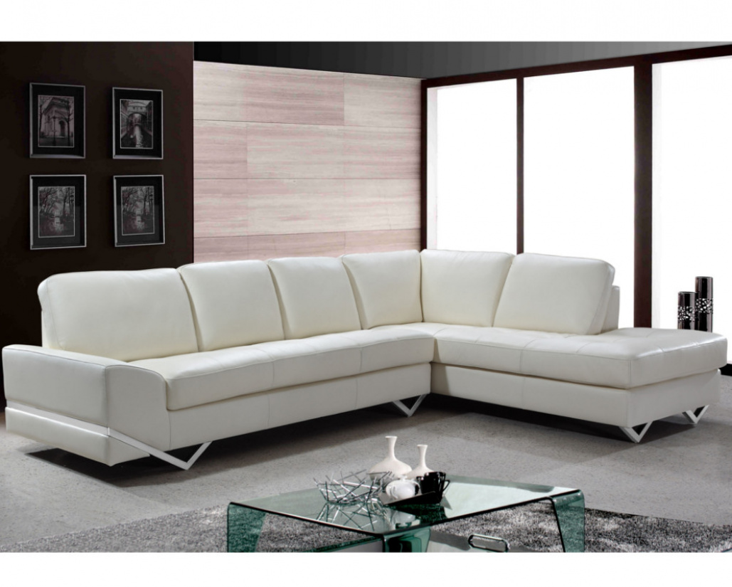 Madison Contemporary Italian Leather Corner Sofa