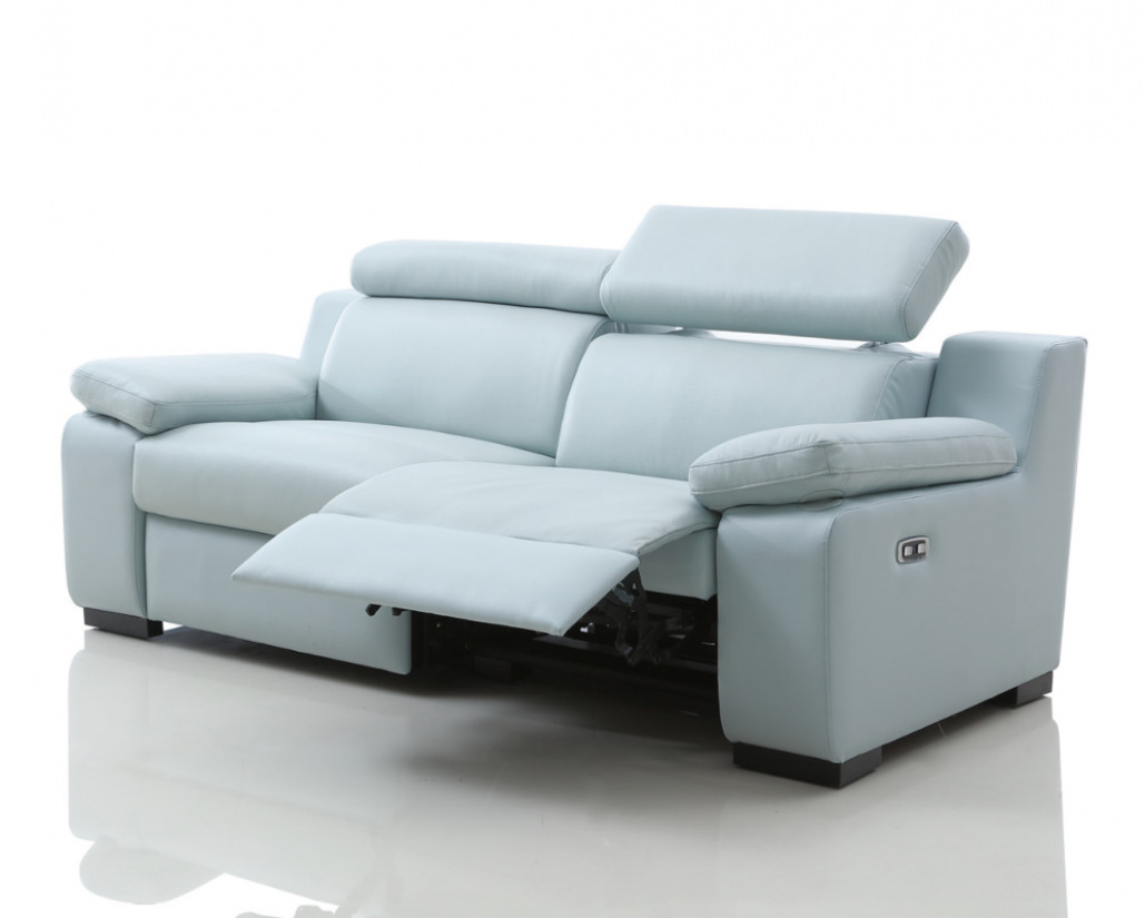 Astonishing Buy Marlon Leather Electric Recliner Sofa With Power Bralicious Painted Fabric Chair Ideas Braliciousco