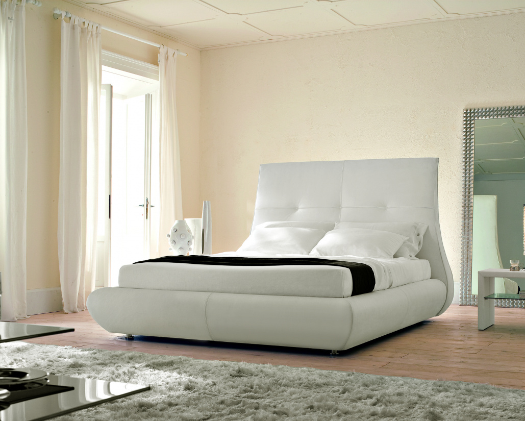 Matisse Leather Bed