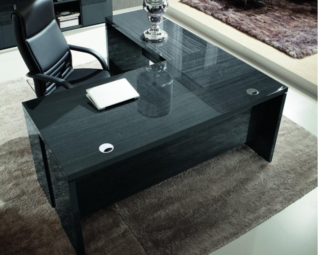 Montecarlo L Shaped Gloss Desk