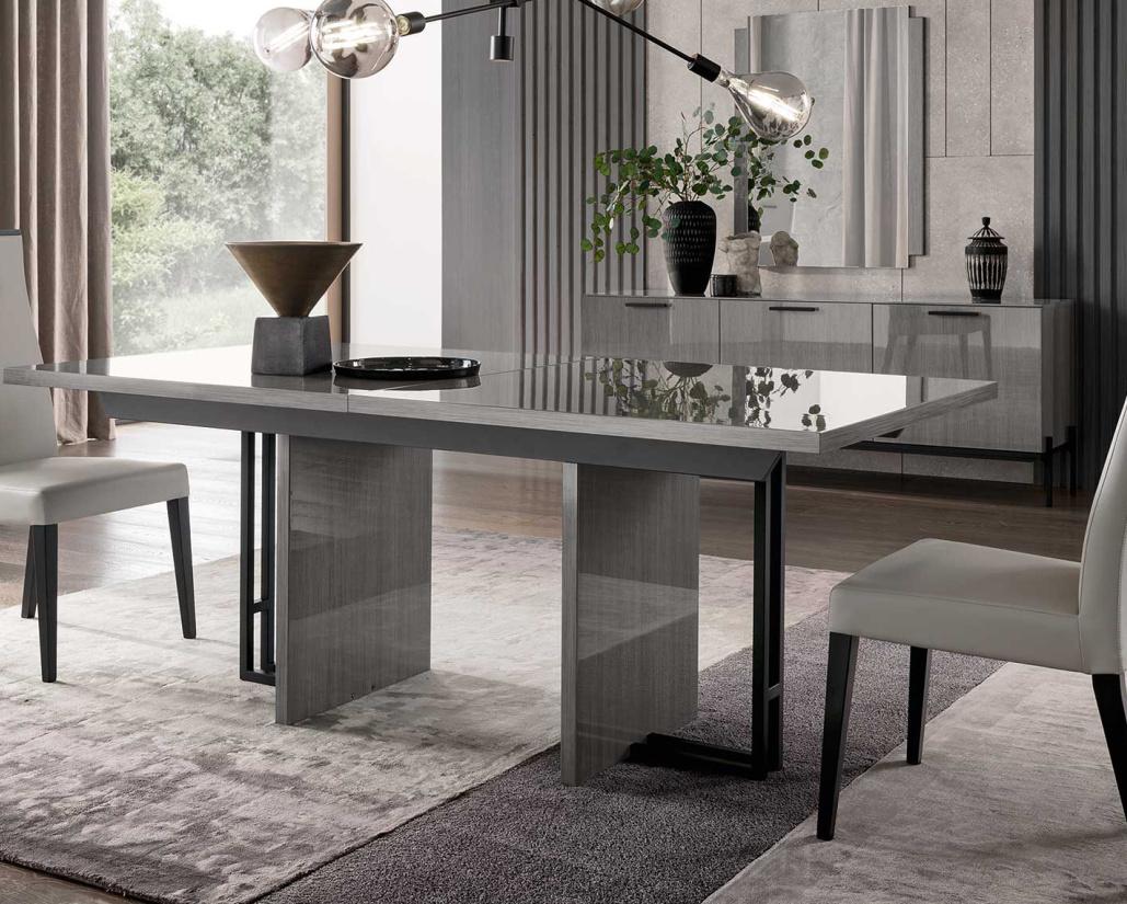 Nova Grey Leather Dining Chair