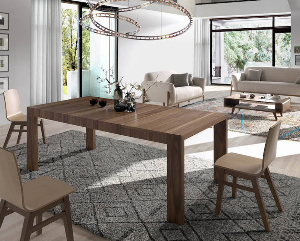 Plus Extending Dining Table - Open