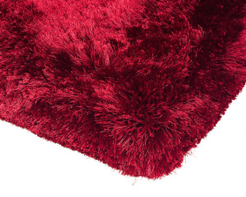 Plush Modern Red Rug - Asiatic