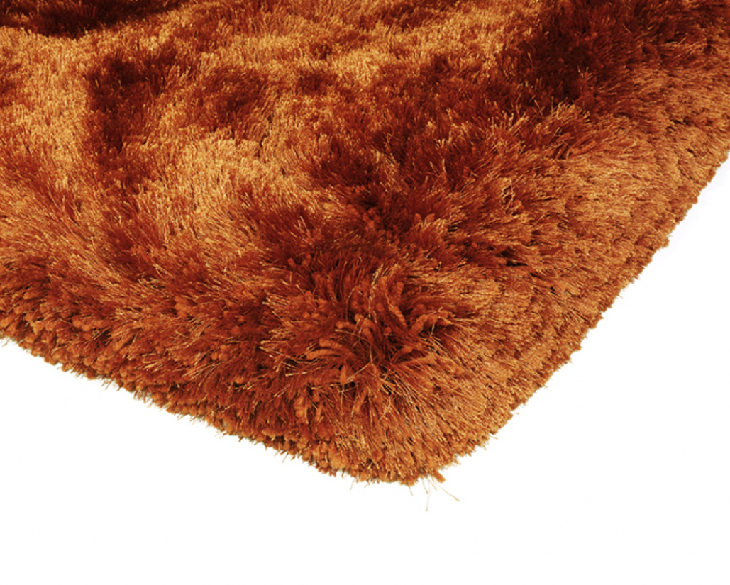 Plush Modern Rust Rug - Asiatic