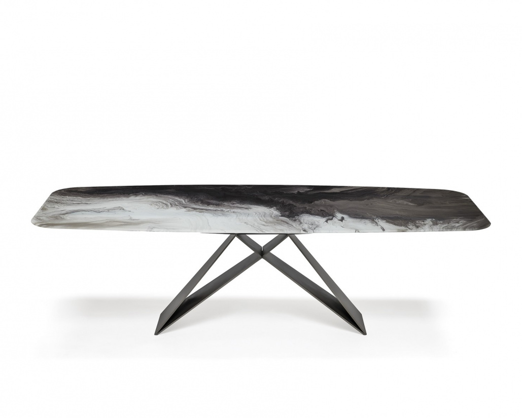 Premier Crystalart Dining Table