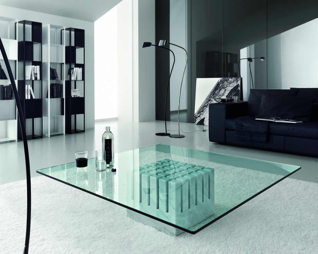 Scacco Glass Coffee Table