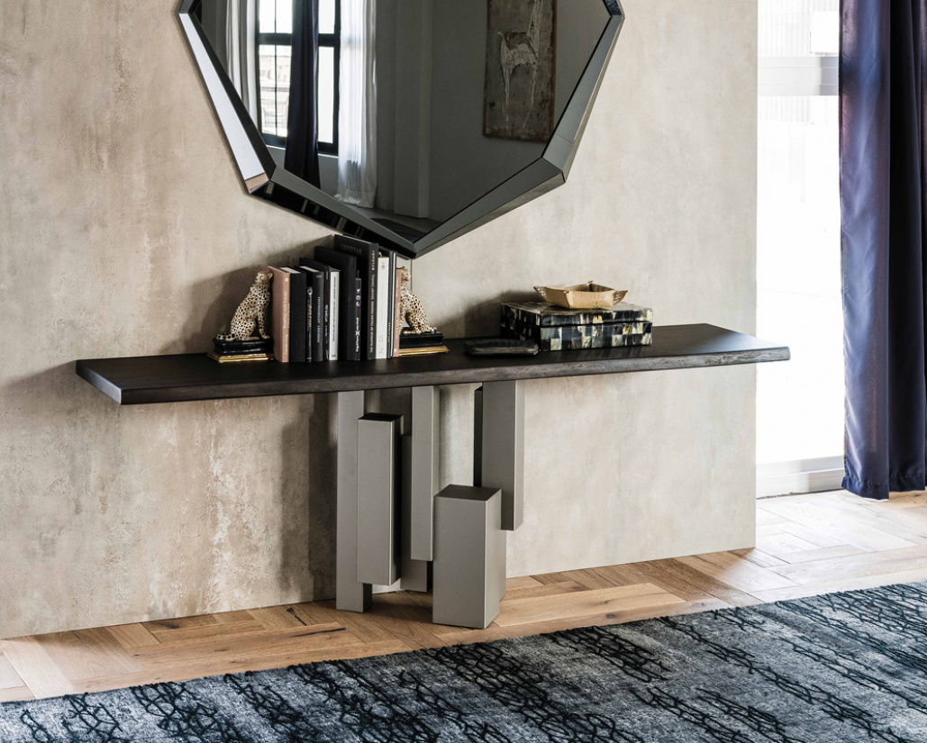 Skyline Wood Console Table