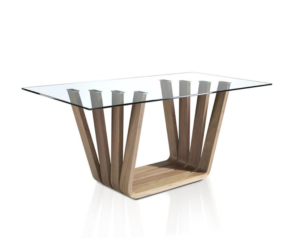 Sticks Dining Table - Walnut Base