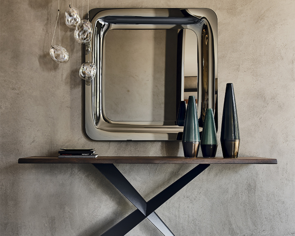 Terminal Wood Console Table