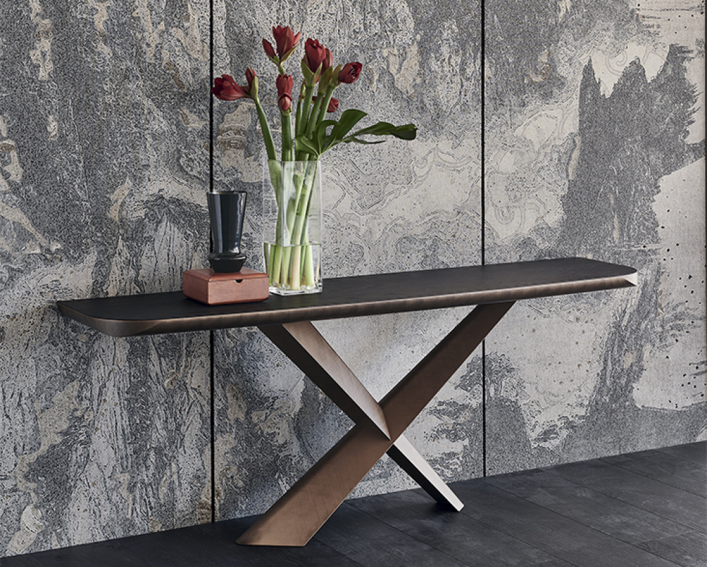 Terminal Wood-C Console Table