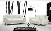 Alonzo Modern Leather Sofa
