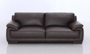 Marco Leather Sofa - Brown