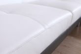 Plaza Leather 5 / 6 Seater Sofa - Front Edge