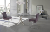 Oliver Eco_Leather Upholstered Dining Chair