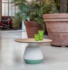 Mira Coffee Table - Ceramic Base