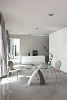 Elise Dining Table - Tricolor Base