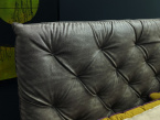 Ninfa Designer Bed - Headboard Button Effect