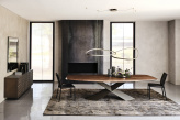 Tryon Cattelan Italia Wood Dining Table