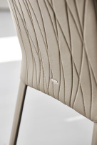 Italia Couture Quilted Back Dining Chair