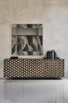 Lavander Luxurious Titanium Sideboard