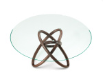 Carioca Round Dining Table - Wood Base