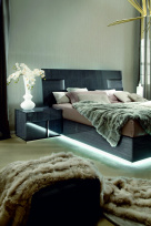 Montecarlo Modern Bed LED Frame