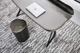 Cocoon Italian Leather Desk