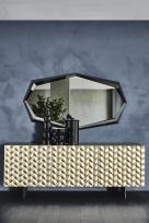 Lavander Titanium Sideboard by Cattelan Italia