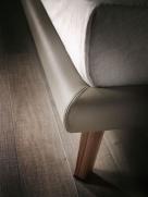 Adam Bed - Canaletto Walnut Feet