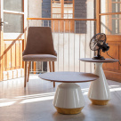 Mira Coffee and Side Table