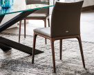 Arcadia Low Back Dining Chair - Rear View